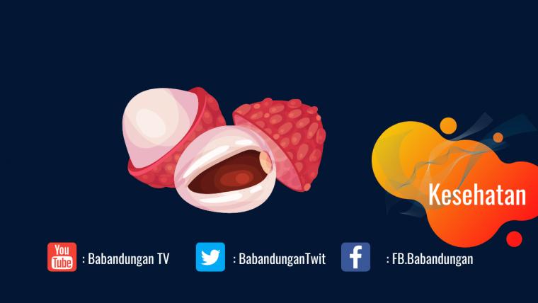 manfaat buah leci merah untuk kesehatan
