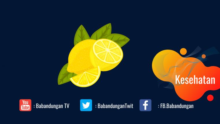 manfaat kulit jeruk lemon